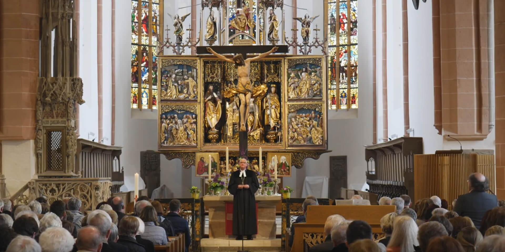 'Altar Schwabach Christuskirche
