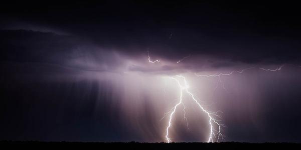 Blitz in der Nacht, © pixabay