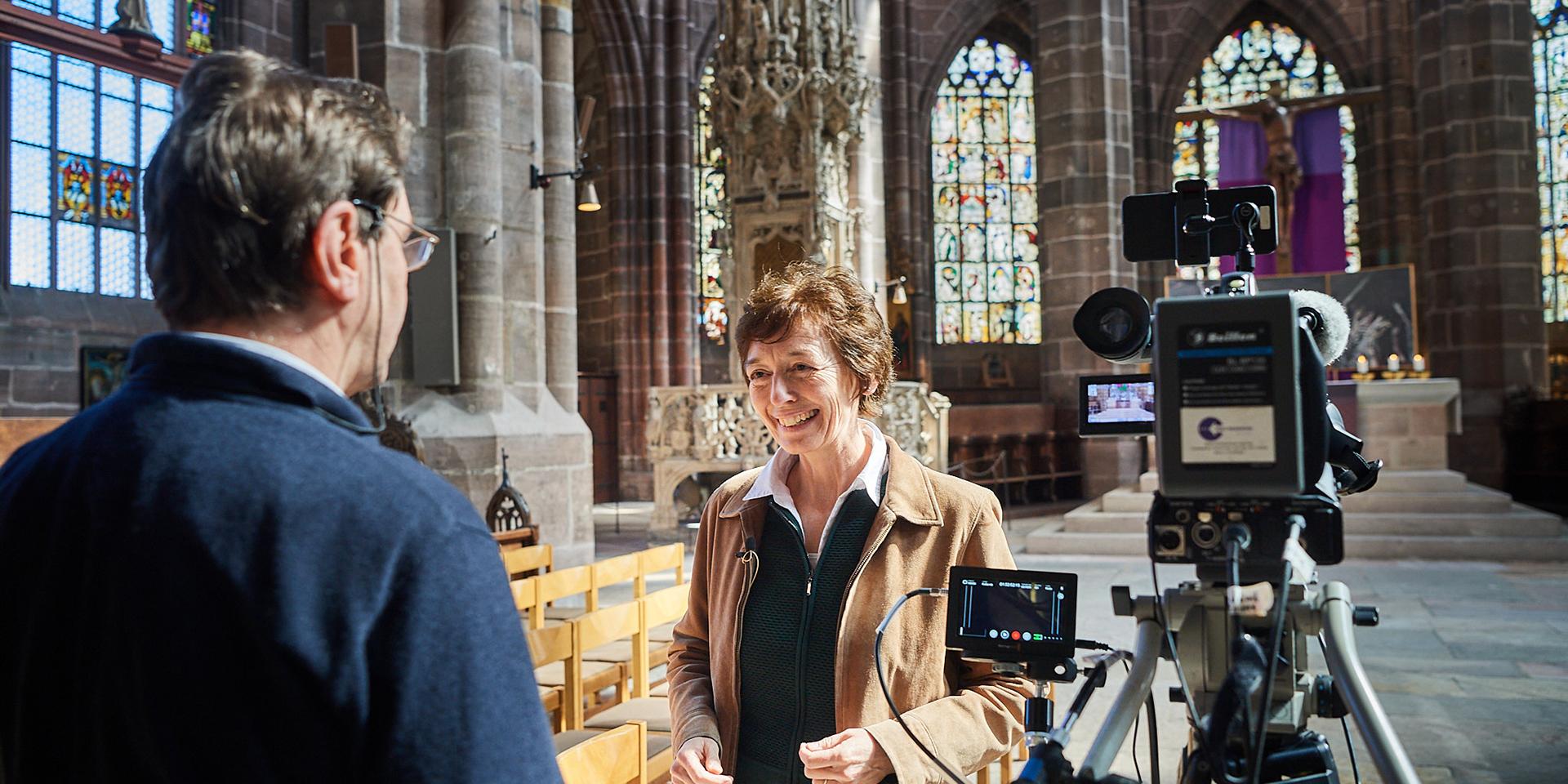Claudia Voigt-Grabenstein im Gespräch mit Hans Batz